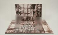 """Escher's Maze 18x18x20"""" 2003"""