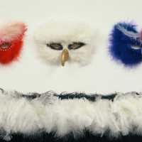 3 Masks With Eagle's Wrap Sold