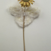 "Opera Sunflower 10x20x42"" 2002"