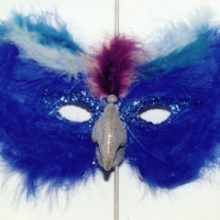 "Blue Bird 12x46"" 2002 Sold"